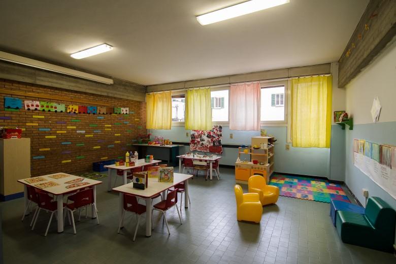 Aula della scuola dell'infanzia